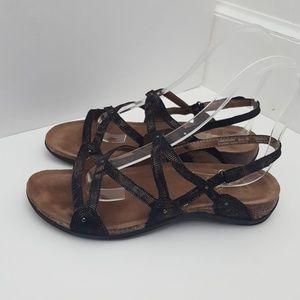 Dansko Jovie leather slingback sandals sz 39